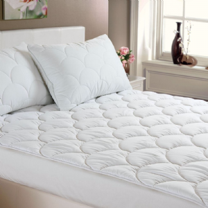 Anti Allergy Mattress Topper Quilted Cloud Filled Mattress Protector Hotel Quality