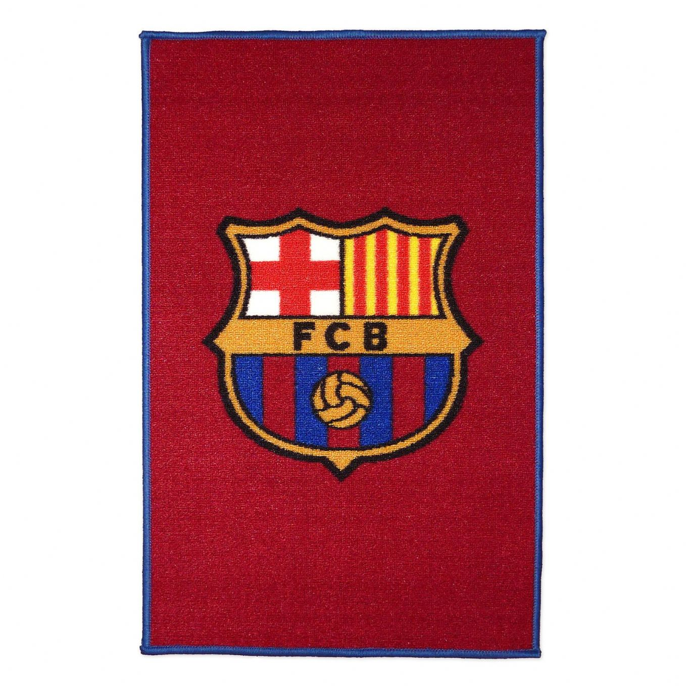 BARCELONA FOOTBALL CLUB CREST FLOOR MAT RUG