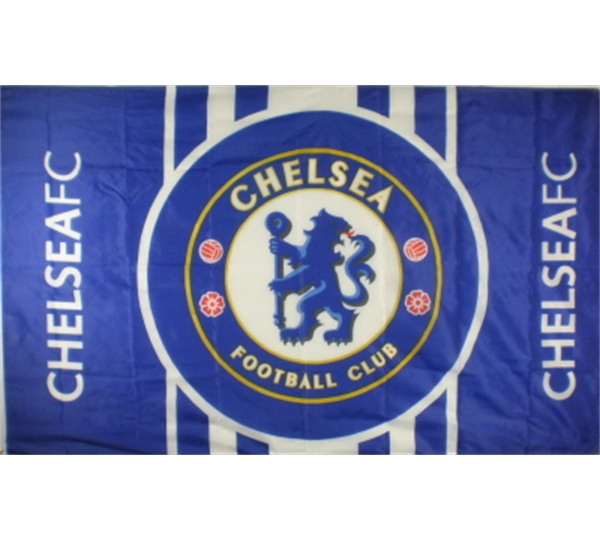 CHELSEA FOOTBALL CLUB FLAG LARGE SIZE OFFICIAL 5 X 3