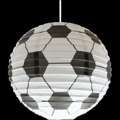 Boys Bedroom Bedding on Football Decor Boys Bedroom Ceiling Paper Shade Lantern Lampshade