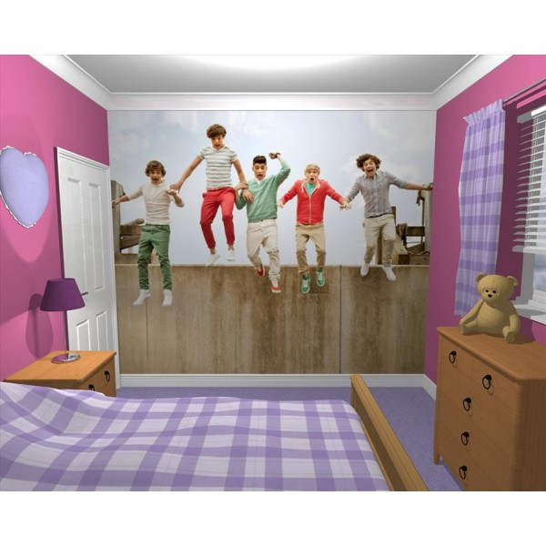 Giant Wallpaper Wall Mural 1d One Direction Music Stylish