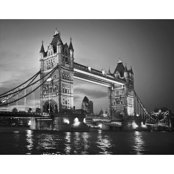 Giant wallpaper wall mural famouse london tower bridge themed design