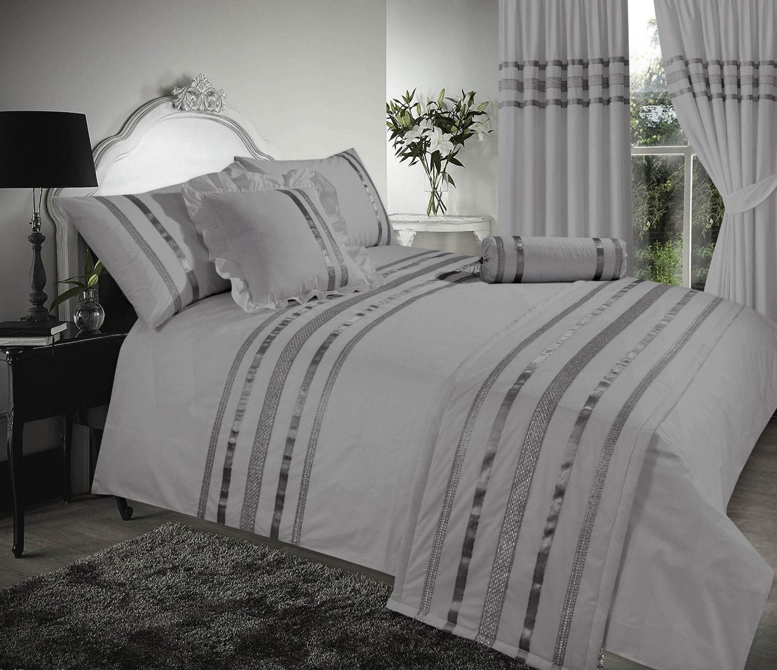 White Egyptian Cotton Duvet Cover Super King Size Sweetgalas