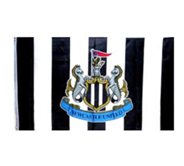 Newcastle Football Club Flag Large Size Official 5 X 3