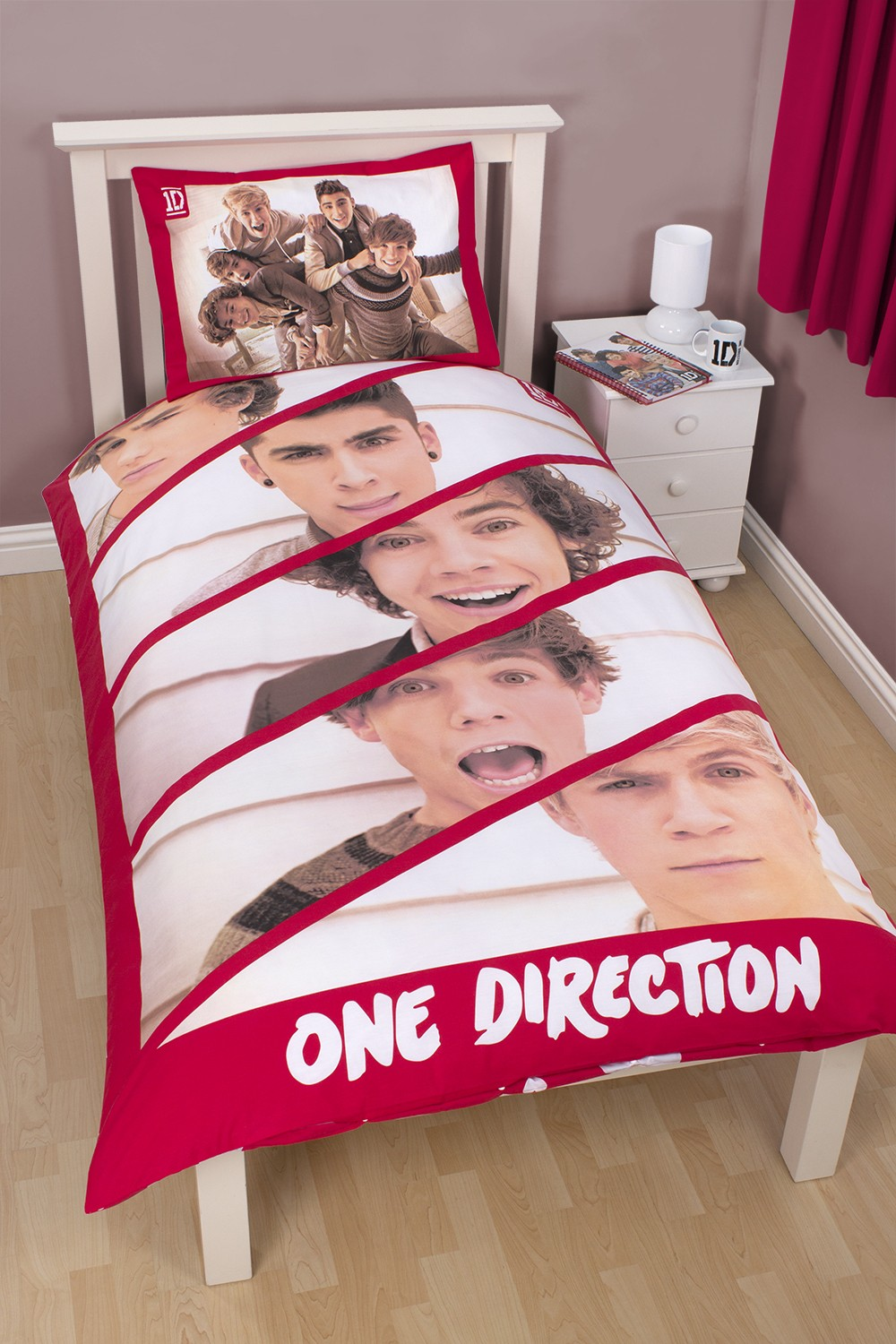 One Direction Wallpaper For Bedroom Giant Wallpaper Wall Mural Official 1d One Direction Bedroom