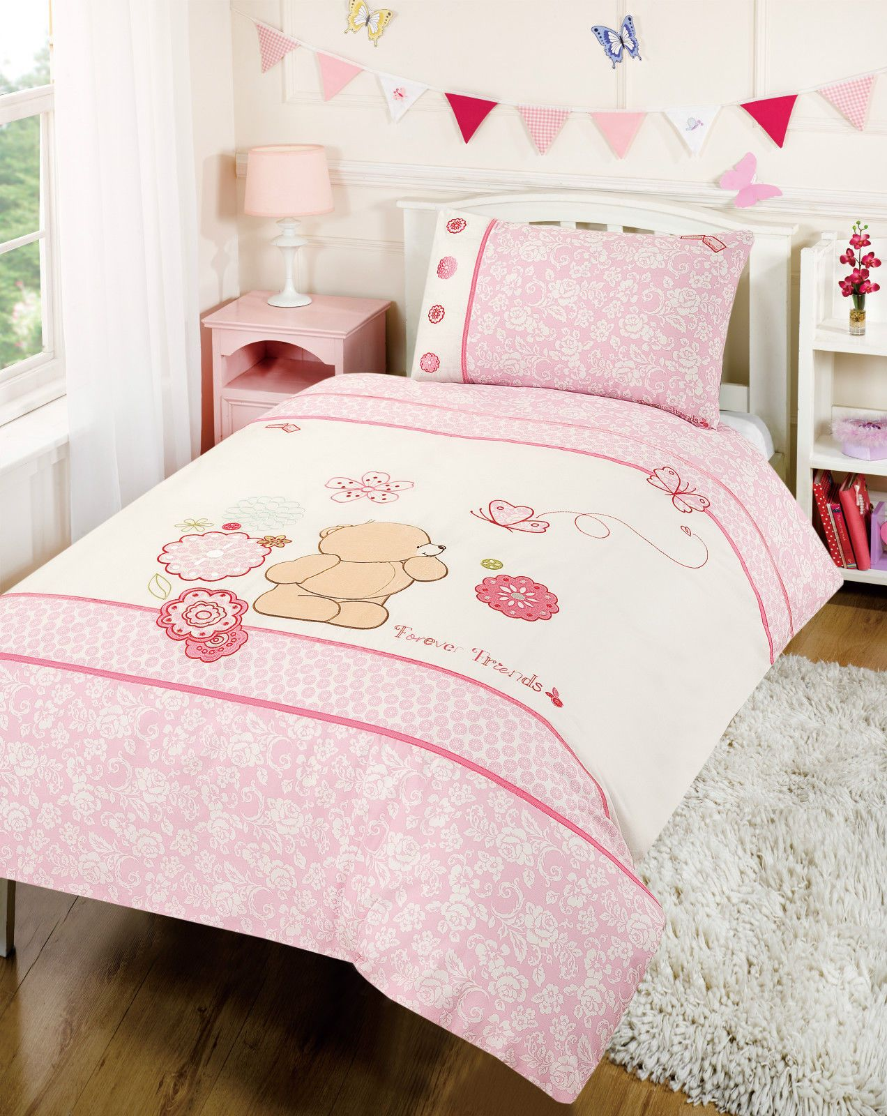 Little Bedding Forever Friends Window Valance by Little Bedding