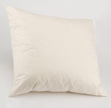 "18"" x 18"" DUCK FEATHER FILLED CUSHION PAD"