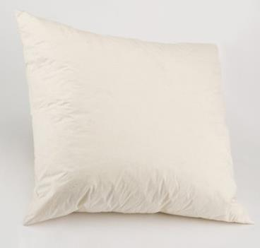 "22"" x 22"" DUCK FEATHER FILLED CUSHION PAD"