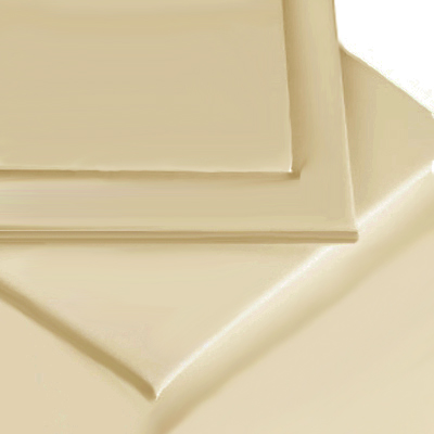 BEIGE COLOUR PERCALE MATTRESS FITTED SHEET