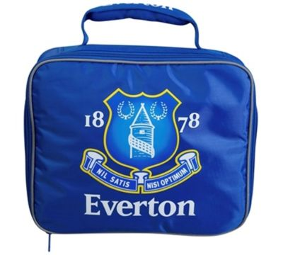 EVERTON FOOTBALL INSULATED KIDS SCHOOL LUNCH BAG BOX