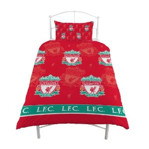 LIVERPOOL SINGLE SIZE DUVET COVER SET