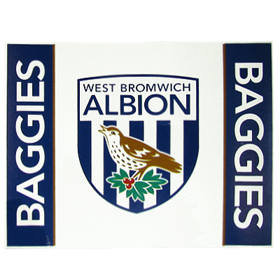 WEST BROMWICH ALBION FLEECE BLANKET