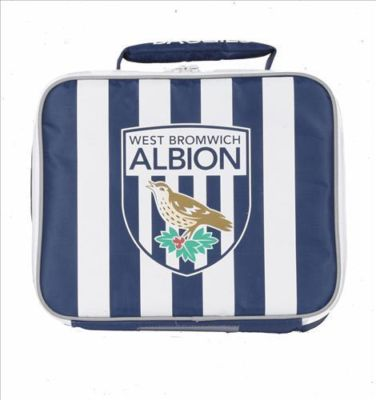 WEST BROMWICH ALBION FOOTBALL INSULATED LUNCH BAG BOX