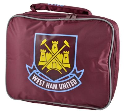 WEST HAM FOOTBALL INSULATED KIDS SCHOOL LUNCH BAG BOX